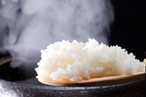 長野産天領米を土鍋で